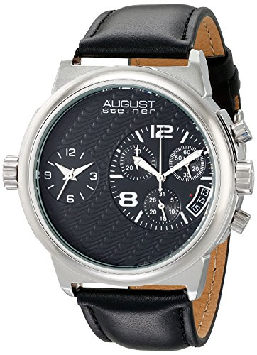 August steiner Herren Armbanduhr Man AS8151SSB Analog Quarz