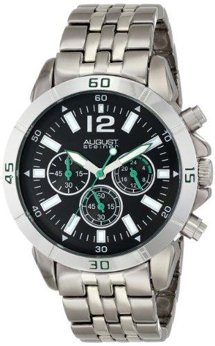August Steiner bicolor Armband Armbanduhr
