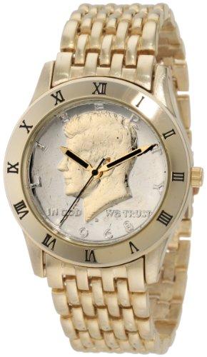 August Steiner Herren s Round Kennedy Half Dollar Necklaces Halskette Armband Armbanduhr