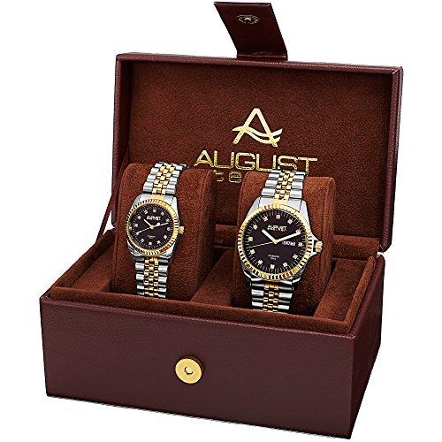 August Steiner Unisex Armbanduhr As8201Ttg Analog Quarz