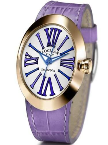 "Locman Damen-Armbanduhr ""Donna"" 04102NAGVTBLPSV-W-B"