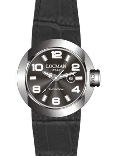 """Locman Damen-Armbanduhr """"One Donna"""" 042100BKNWH0PSK-KS-W"""