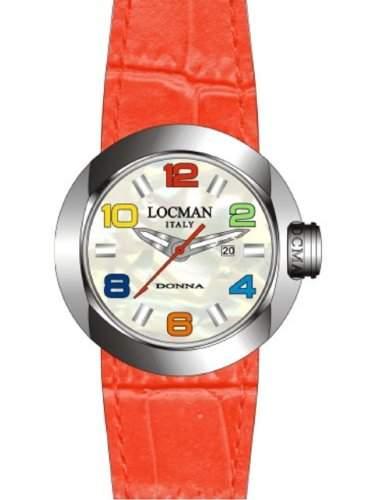"Locman Damen-Armbanduhr ""One Donna"" 042100MWNCO1PSR-B-WS"