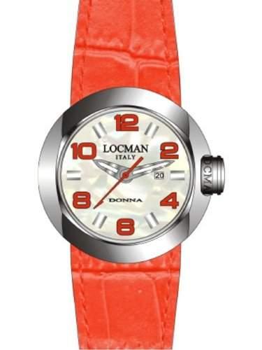 "Locman Damen-Armbanduhr ""One Donna"" 042100MWNRD0PSR-W-RS"