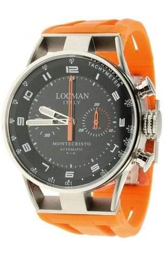 Locman Herrenuhr Chronograph Automatik Montecristo 0514V04-00BKOSIO