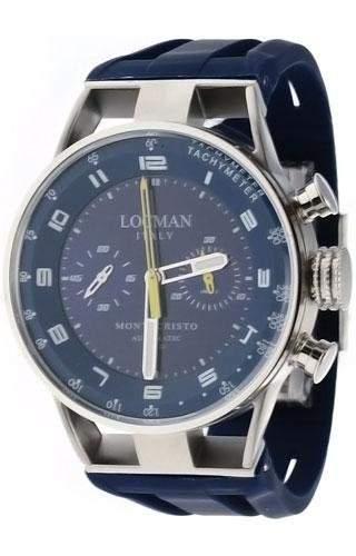 Locman Herrenuhr Chronograph Automatik Montecristo 0514V06-00BLYSIB