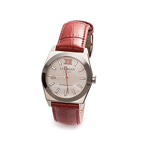 Armbanduhr Damen rot Ref 204 Stealth Lady 020400 mwfrd0psr LOCMAN