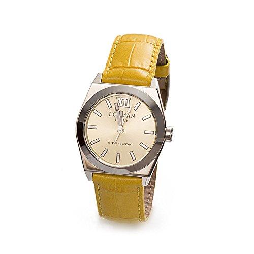 Armbanduhr Damen Gelb Ref 204 Stealth Lady 020400ylfnk0psy LOCMAN