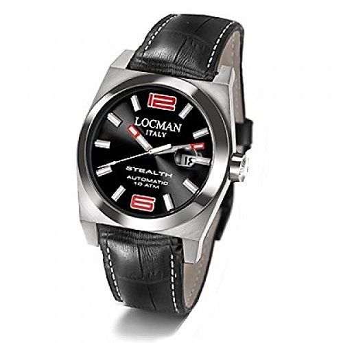 Armbanduhr Herren LOCMAN Stealth Serie 205 020500bknrd0psk