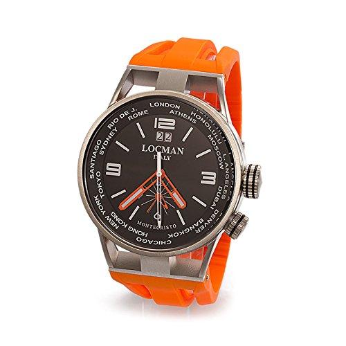 Uhr Herren Montecristo World Dual Time Ref 508 0508 a01s 00bkwhsk LOCMAN