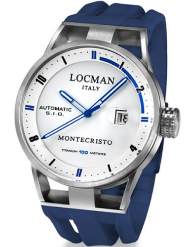 Locman Herren Armbanduhr Montecristo 051100WHFBL0GOB