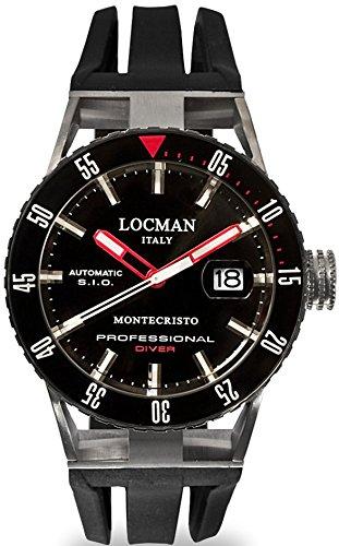 Locman Uhren Herrenautomatikuhr Montechristo P 051300KRBKNKSIK