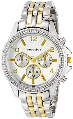 Vernier Damen VNR11158TT Vernier Analog Display Japanese Quartz Two Tone Armbanduhr