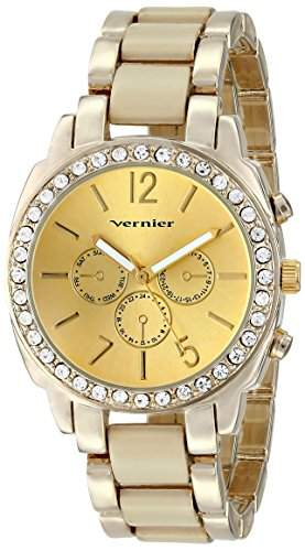Vernier Damen VNR11173BG Vernier Analog Display Japanese Quartz Two Tone Armbanduhr
