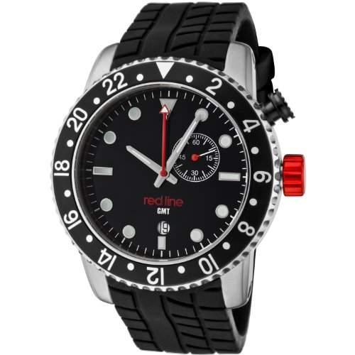 Red Line Herren-Armbanduhr Analog Quarz Kautschuk RL-10001