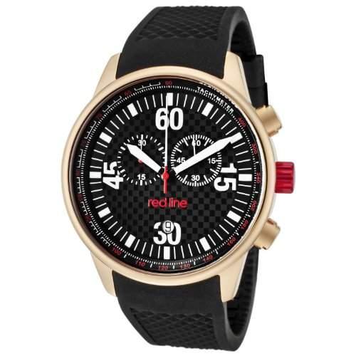 Red Line Herren-Armbanduhr Chronograph Quarz Kautschuk RL-10102
