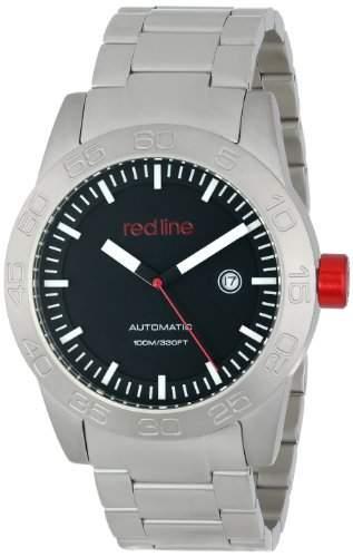 Red Line Mileage Herren 45mm Automatikwerk Mineral Glas Datum Uhr 50045-11