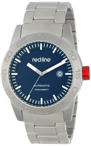 Red Line Mileage Herren 45mm Automatikwerk Mineral Glas Datum Uhr 50045-33