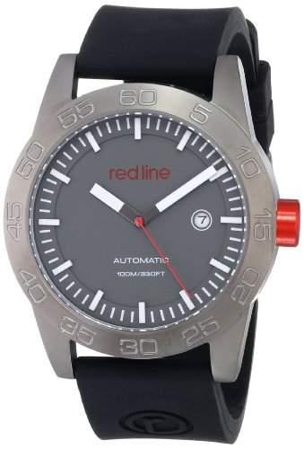 Red Line Mileage Herren 45mm Automatikwerk Datum Uhr RL-50045-GM-014-BK-ST