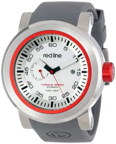 Red Line Torque Sport Herren 50mm Automatikwerk Mineral Glas Uhr 50046-22RD-GYST