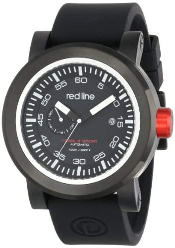Red Line Torque Sport Herren 50mm Automatikwerk Datum Uhr 50047-BB-01-BKST