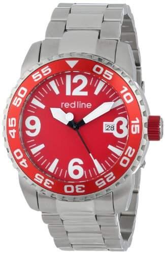 RED LINE IGNITION HERREN 44MM AUTOMATIKWERK MINERAL GLAS DATUM UHR 60016