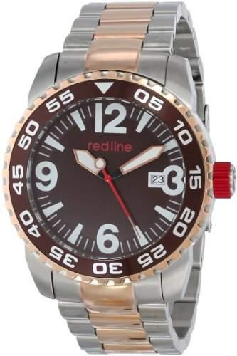 RED LINE IGNITION HERREN 46MM AUTOMATIKWERK MINERAL GLAS DATUM UHR 60018