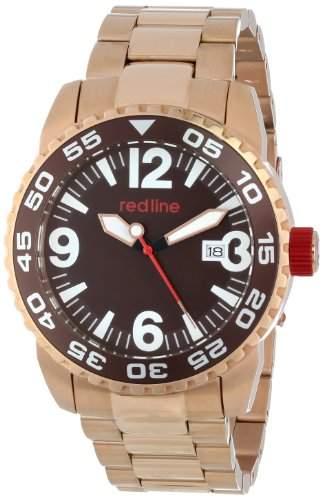 Red Line Ignition Herren 45mm Automatikwerk Mineral Glas Datum Uhr 60021
