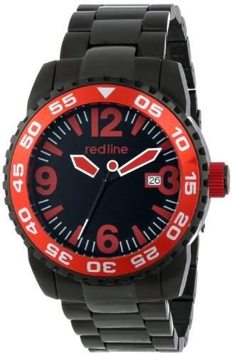 Red Line Ignition Herren 44mm Automatikwerk Mineral Glas Datum Uhr 60023