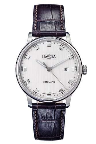 Davosa Herren-Armbanduhr Vanguard Analog Automatik Leder 16151315