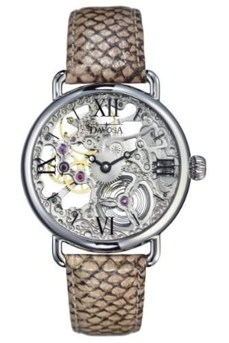 Davosa Damen-Armbanduhr Salome Analog Leder beige 16540880