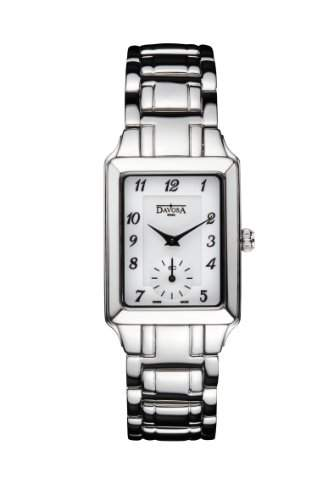Davosa Damen-Armbanduhr Neoclassic Analog edelstahl Silber 16855116