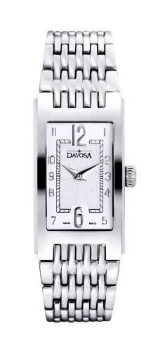 Argenta WomenDavosa Herren-Armbanduhr 17251562 Analog-Anzeige und Silber-Edelstahl-Armband 16855716