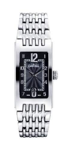 Davosa - 16855756 Damen-Armbanduhr Alyce Quarz Analog Edelstahl Silber