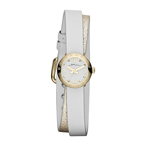 Marc by Marc Jacobs Analoguhr Leder weiss