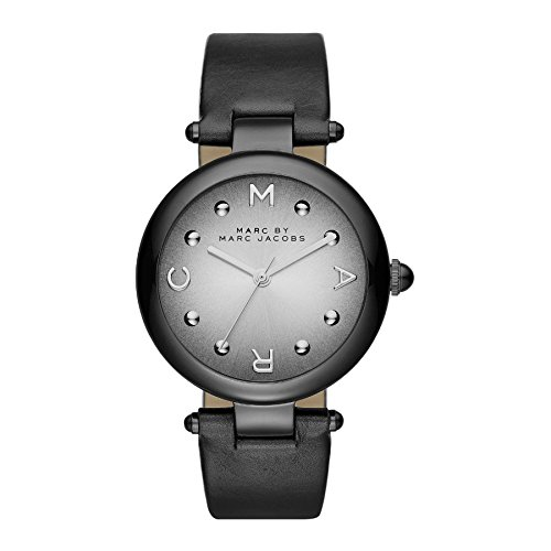 Marc By Marc Jacobs Analog Quartz Leder Schwarz MJ1410