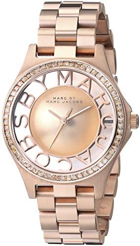 Marc Jacobs Henry fuer Frauen Armbanduhr Analog Quartz MBM3339