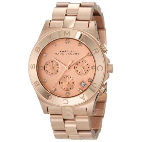 Marc by Marc Jacobs MBM3102 Chronograph Jacobs Blade rosegold