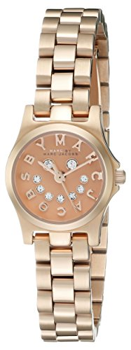 Marc By Marc Jacobs Raver Rose Gold Ton Style Nr mbm3387