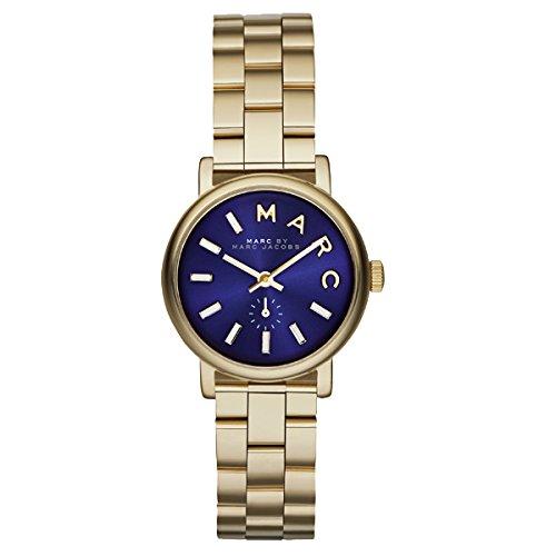 Marc Jacobs Baker Glitz Zifferblatt Edelstahl Damen Armbanduhr mbm3346 von Marc Jacobs