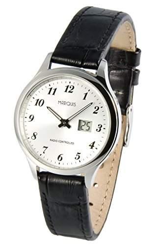 Damen Funk Armbanduhr Junghans-Werk Funkuhr 9644707