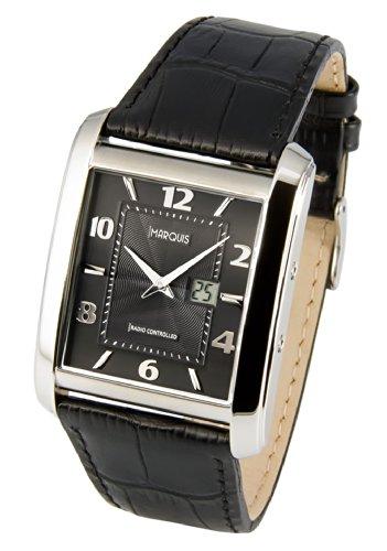 Funk Armbanduhr Junghans Uhrwerk Funkuhr Armbanduhr Leder 964 4715