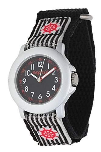 Esprit Jungen Armbanduhr Brave Sailor schwarz ES103454003U