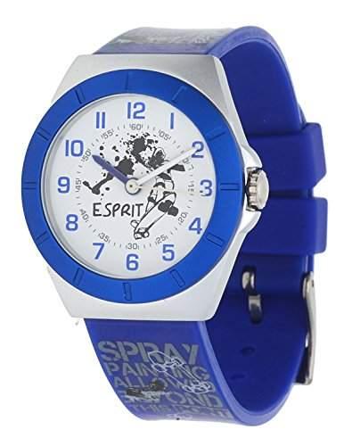 Esprit Jungen Armbanduhr Half-Pipe blau ES105274004