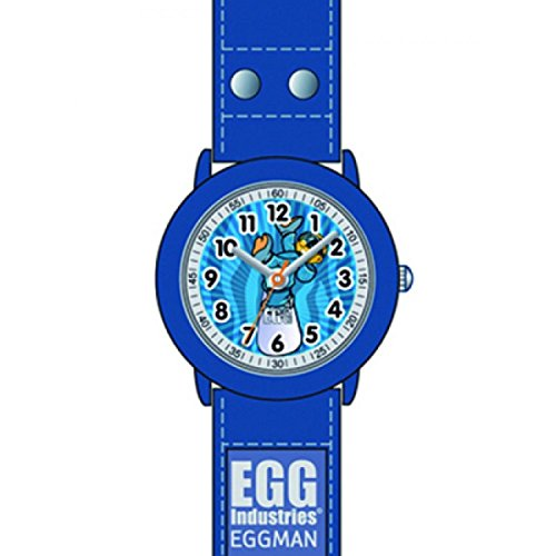 Egg DDP 4043802 Zeigt Kinder Quarz Analog Zifferblatt Armband Kunststoff blau