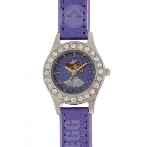 EGG DDP Kinder Armbanduhr Analog Quarz Violett 4042705