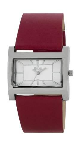 Rebel Damen-Armbanduhr Analog plastik rot REB2023