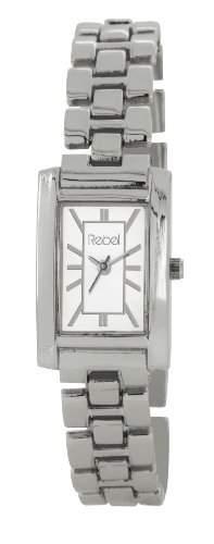 Rebel Damen-Armbanduhr Analog silber REB4015