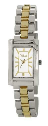 Rebel Damen-Armbanduhr Analog silber REB4017