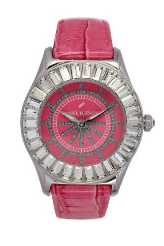 Daniel Hechter Damen Armbanduhr Analog Quarz Leder DHD 006S OO